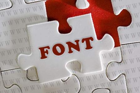 建网站必须注重字体的选择